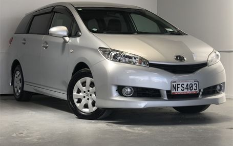 2009 Toyota Wish 1.8X 8 SEATER Test Drive Form