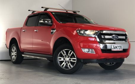 2016 Ford Ranger XLT NZ NEW - GOOD KS Test Drive Form