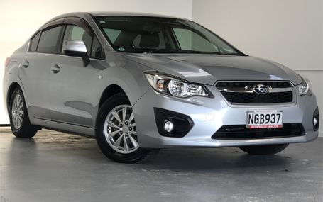 2012 Subaru Impreza G4 68,000 KMS Test Drive Form