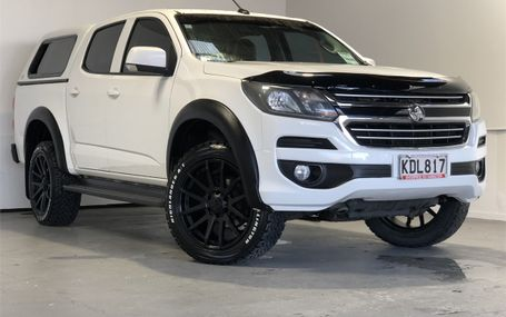 2016 Holden Colorado LT 2.8 DSL TURBO - ALLOYS & FLAR Test Drive Form