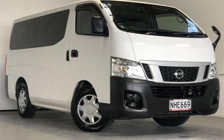 2013 Nissan Caravan NV350 DX 10 STR Test Drive Form
