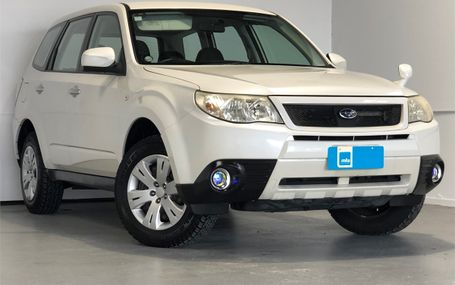 2011 Subaru Forester 4WD 5 SPEED MANUAL Test Drive Form
