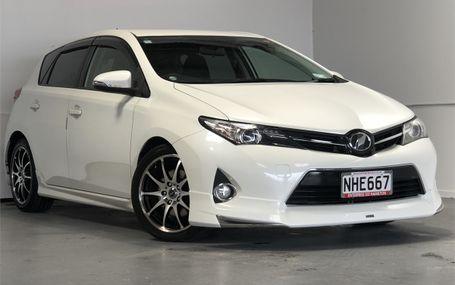 2012 TOYOTA Auris RS 6 SPD S PACKAGE Test Drive Form