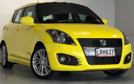 2013 SUZUKI Swift SPORT 1.6 NZ NEW - LOW KS Test Drive Form