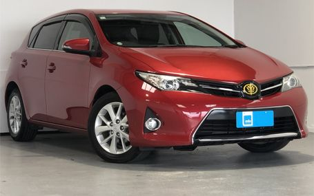 2012 Toyota Auris 150X S PACKAGE Test Drive Form