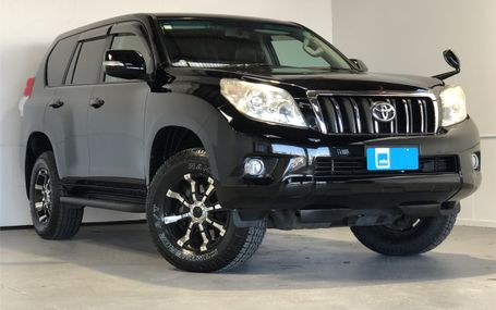 2010 Toyota Land Cruiser 4WD PRADO TX L PACK Test Drive Form