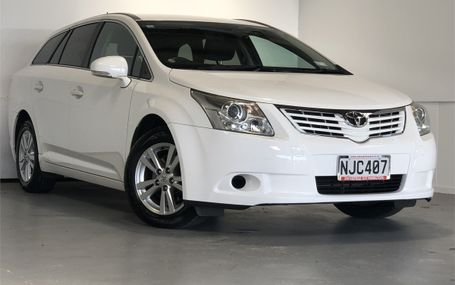 2011 TOYOTA Avensis XI WGN 8 AIRBAGS Test Drive Form