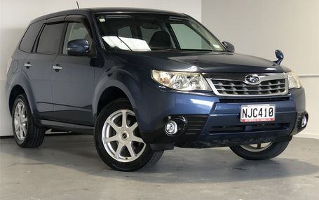 2011 Subaru Forester XS 8 x AIRBAGS Test Drive Form