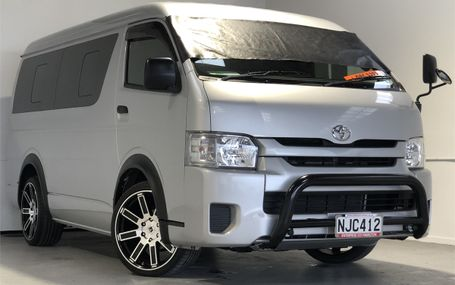 2015 Toyota Hiace DX 10 STR SO POPULAR Test Drive Form