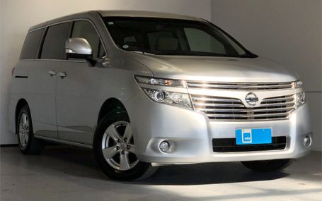 2015 Nissan Elgrand 8 SEATER - 8 AIRBAG Test Drive Form