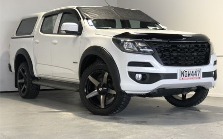2018 Holden Colorado 4WD BIG WHEELS AND FLARES Test Drive Form