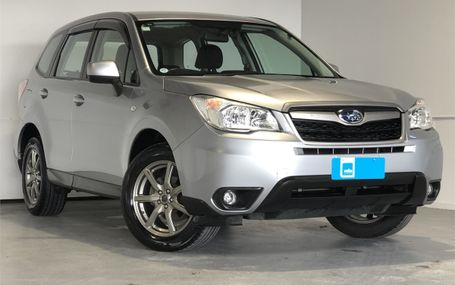 2013 Subaru Forester 4WD NEWER SHAPE Test Drive Form