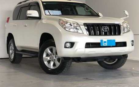 2012 TOYOTA Land Cruiser Prado TX AWD Test Drive Form