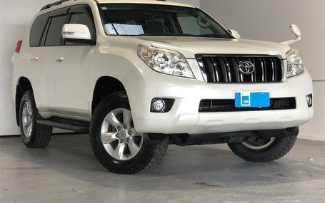2012 Toyota Land Cruiser Prado TX AWD Test Drive Form