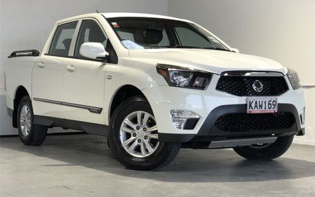 2016 SsangYong Actyon Sports 4WD - 26,000 KMS Test Drive Form