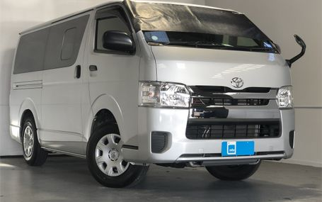 2019 Toyota Hiace REGIUS - 29,000 KM'S Test Drive Form