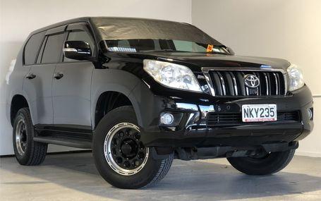 2009 Toyota Land Cruiser AWD PRADO TX L Test Drive Form