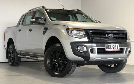2013 Ford Ranger WILDTRAK 4X4 D/CAB Test Drive Form
