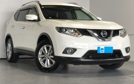 2014 Nissan X-Trail 7 STR CRUISE CONTROL Test Drive Form
