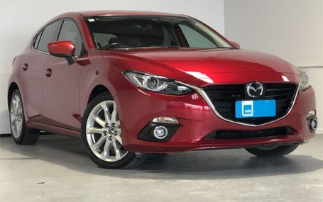 2014 Mazda Axela 20S 51,000 KMS Test Drive Form