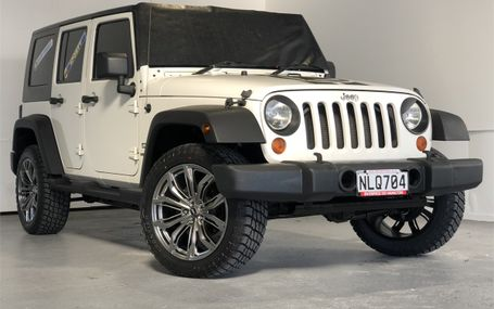 2008 Jeep Wrangler NEW RIMS AND TYRES Test Drive Form
