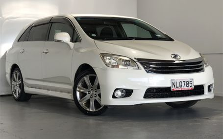 2010 Toyota Mark X Zio 6 SEATER Test Drive Form