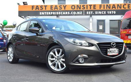 2014 Mazda 3 SP25 Test Drive Form