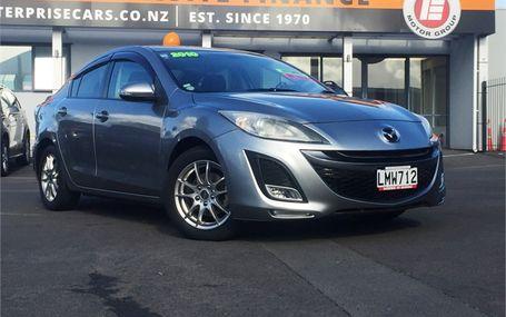 2010 Mazda Axela **DARK TRIM** Test Drive Form