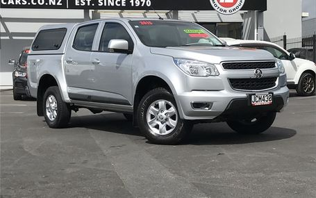 2015 Holden Colorado LT 4WD Test Drive Form
