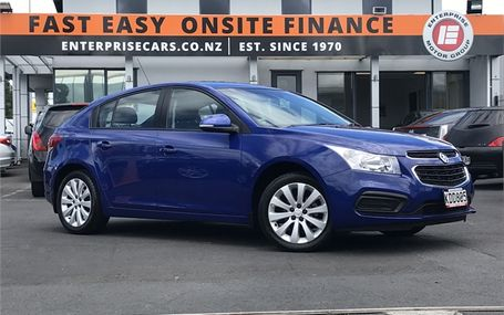 2016 Holden Cruze