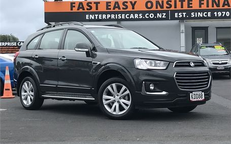 2016 Holden Captiva