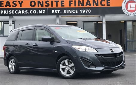 2011 Mazda Premacy **DARK TRIM** Test Drive Form
