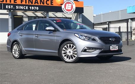 2015 Hyundai Sonata NZ NEW Test Drive Form