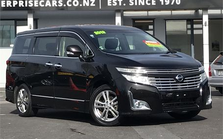 2012 Nissan Elgrand HIGHWAYSTAR Test Drive Form