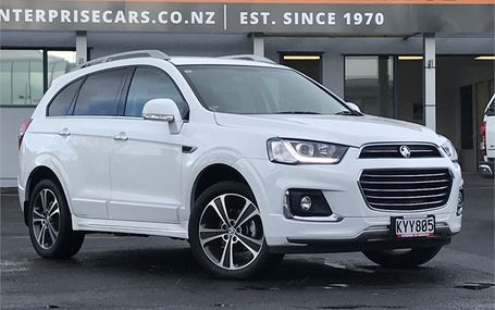 2017 Holden Captiva