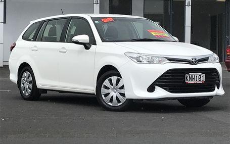 2017 Toyota Corolla `` GX WAGON `` Test Drive Form