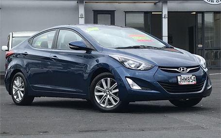 2015 Hyundai Elantra 1.8 HATCH Test Drive Form