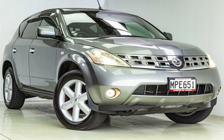 2006 Nissan Murano 4WD Test Drive Form