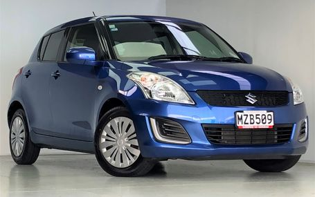 2015 Suzuki Swift **DARK TRIM** Test Drive Form