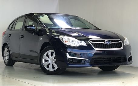 2016 Subaru Impreza Hatch Test Drive Form