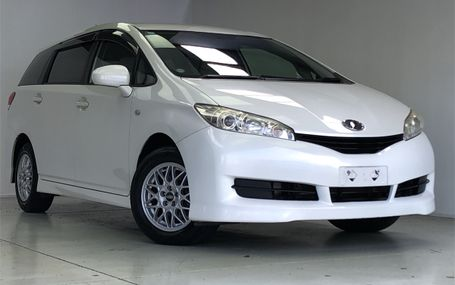 2009 Toyota Wish **Low kms** Test Drive Form