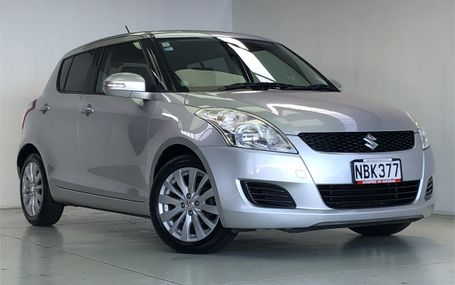 2012 Suzuki Swift **DARK TRIM** Test Drive Form