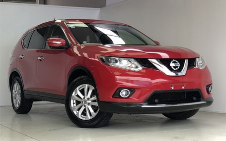 2015 Nissan X-Trail **4WD** Test Drive Form