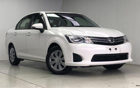 2013 Toyota Corolla Axio Test Drive Form