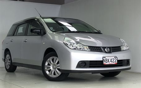 2015 Nissan Wingroad **LOW KMS** Test Drive Form
