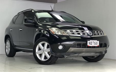 2007 Nissan Murano 4WD Test Drive Form