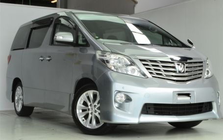 2010 Toyota Alphard **8=SEATER** Test Drive Form