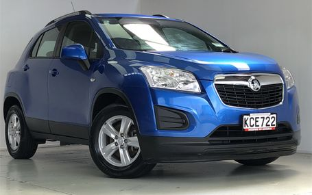 2016 Holden Trax LS 1.8P/6AT/SW/4DR/5 Test Drive Form