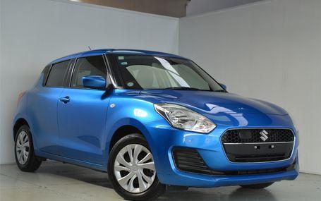 2018 Suzuki Swift **Late Model** Test Drive Form