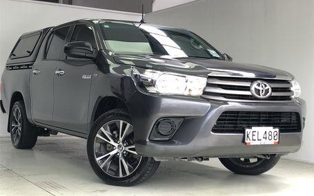 2016 Toyota Hilux S Td Dc 2.8D/5Mt/Ut Test Drive Form